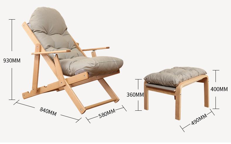 kích thước ghế nghỉ pello