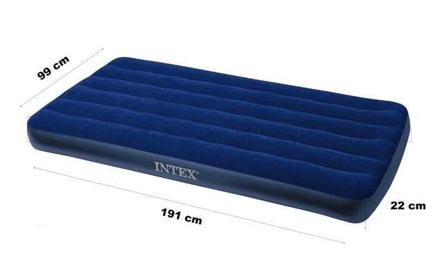 ĐỆM HƠI INTEX 99CM X 1M91 X 22CM