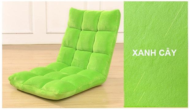 ghế ngồi bệt tatami màu xanh lá