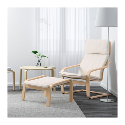 Ghế nghỉ Poang Arm-chair thiết kế hiện đại với kiểu dáng độc đáo